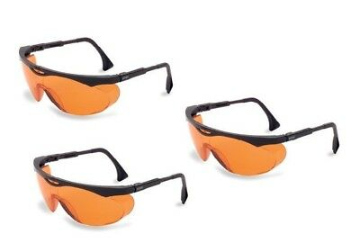 3 Pack Uvex Skyper Blue Light Blocking Glasses SCT-Orange Lens Computer