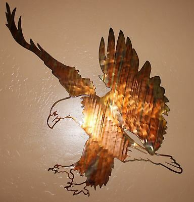 """""""Eagle Landing"""" Metal Wall Art piece from HGMW"""