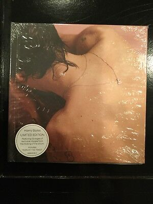 NEW: Harry Styles [Limited Edition] [Hardcover Book + CD) by Harry Styles (2017)