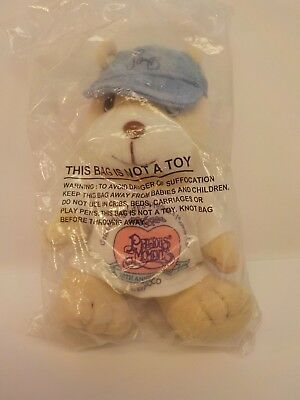 Enesco Precious Moments Pals 20th Anniversary BEAR Bean Bag Plush New Sealed