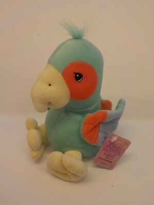 Enesco Precious Moments Limited Ed PARROT Bean Bag Plush Tender Tails New Tags