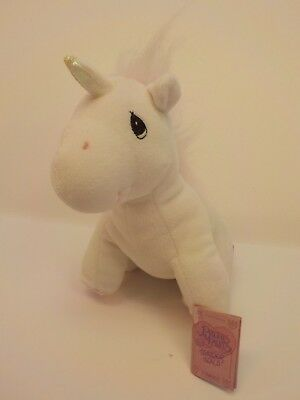 Enesco Precious Moments UNICORN Bean Bag Plush Tender Tails New Tags NWT