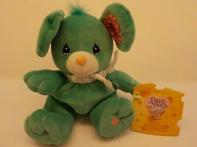 Enesco Precious Moments Limited Ed ROSIE MOUSE Bean Bag Plush Tender Tails New