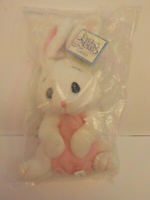 Enesco Precious Moments Pals Tender Tails SNOWFLAKE Bunny Bean Bag Plush New