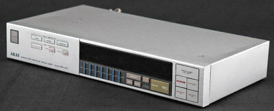 VINTAGE AKAI EA-A7 Home Stereo Digital Computer Graphic Equalizer Unit AS-IS