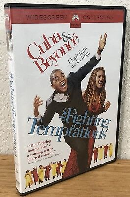 The Fighting Temptations (Dvd, 2003) Widescreen Collection ~ Region 1 ~ Like New