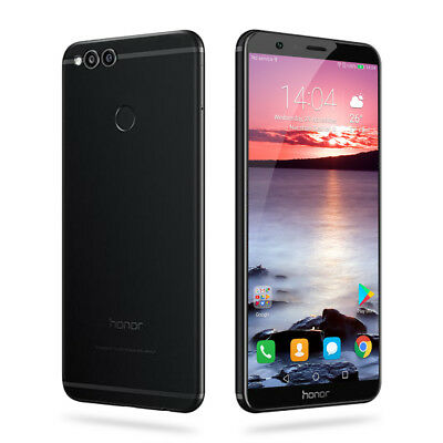 """5.93"""" HUAWEI Honor 7X 4G Smartphone 4+64GB OctaCore Android 7.0 OTA 16MP 2SIM FR"""