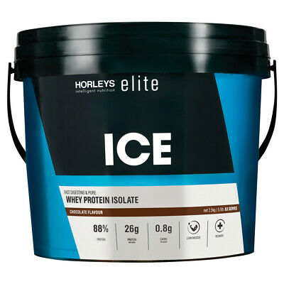 Horleys Elite Ice Wpi 2.5Kg Chocolate Whey Protein Isolate Pure Fast Digesting