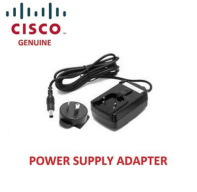 Brand New Cisco Power Adapter for SPA9xx & SPA500 Series Phones (PA100-AU)