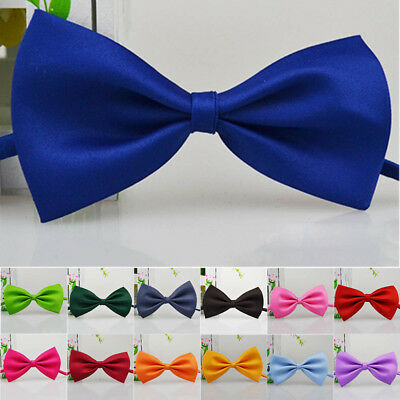 New Baby Kids Boy Toddler Child Wedding Bow Tie Party Bowtie Necktie 14 Colors