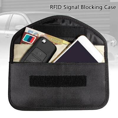 Car Key Pouch FOB Faraday Keyless Enter  Signal Blocker Shielding Anti Theft