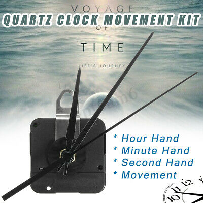 15mm Quartz Wall Clock Silent Movement Mechanism Kit Battery Powered Assembly