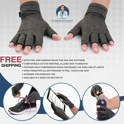 Arthritis Gloves Compression Joint Finger Pain Relief Hand Wrist Support Brace,J