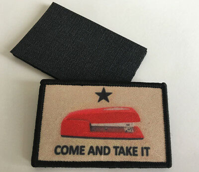 Come And Take It Morale Embroidery Hook Patch Badge  Aa 1298