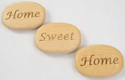 Personalised Large Wooden Pebbles Live Laugh Love Believe In Yourself Home decor