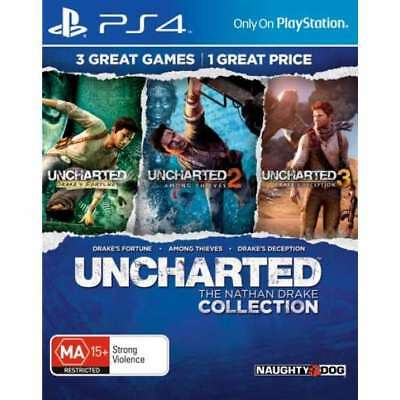 Uncharted the Nathan Drake Collection PS4 Playstation 4 BRAND NEW fast shipping