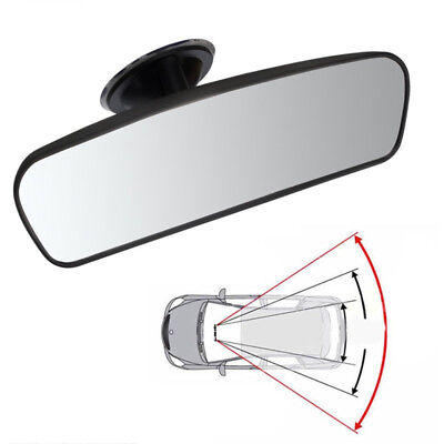 Universal Car Rear View Wide Angle Rearview Mirror Convex Curve with Suction Cup