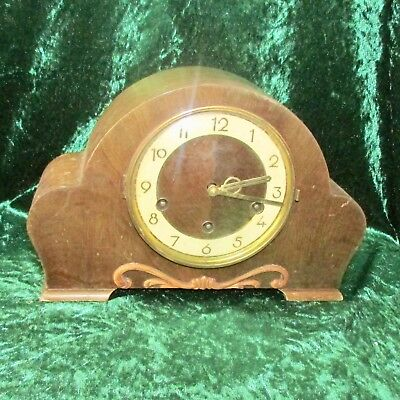 Antique Art Deco Westminster/Whittingham Chime Mantle Clock