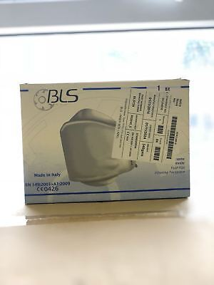 BLS Fold Flat Disposable Face Dust Mask Respirator FFP2 BLS728B - Box of 20