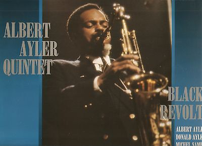 ALBERT AYLER QUINTET - Black Revolt - FREE JAZZ KILLER ALBUM