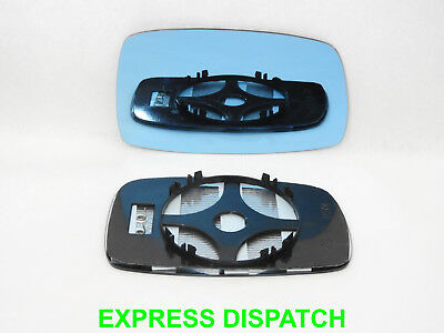 Wing Mirror Glass For VW Corrado 1988-1995 Convex HEATED Right side BLUE #1025