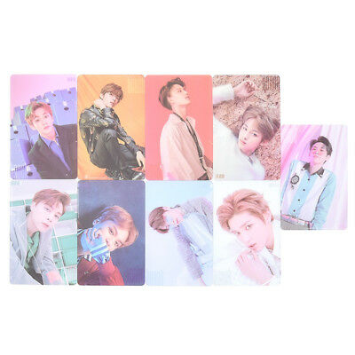Kpop NCT 127 Transparent Photo Cards PVC Photocards Kpop Fans Collections Gifts