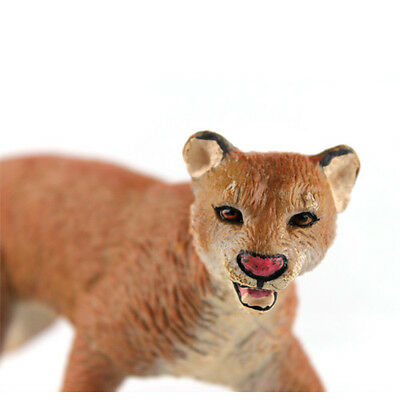 RARE Retired Safari Huge Puma Pumas Lion Tiger Animal Figure