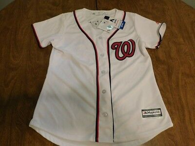 online retailer 82cd0 9ca0b Majestic Bryce Harper #34 Washington Nationals Jersey, Sz Medium, New w/Tags