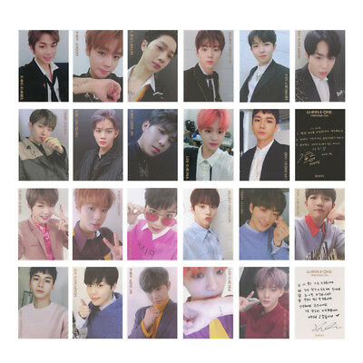 12pcs/Set Kpop Star WANNA ONE Album Card PVC Photocards Fans Gift Collection
