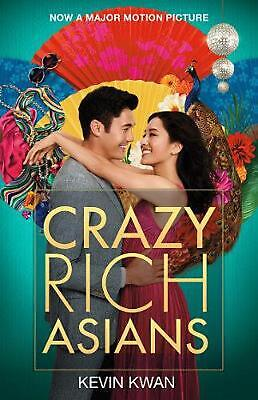 Crazy Rich Asians Film Tie-in by Kevin Kwan Paperback Book Free Shipping!