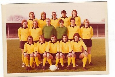 Cambridge United Original Colour Team Group Early To Mid 1970's