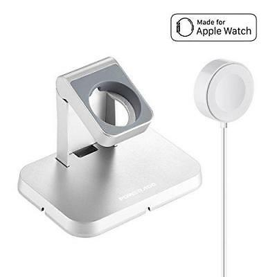 [ Apple MFi Certified ] Apple Watch Charger, Poweradd Magnetic Charging Dock and