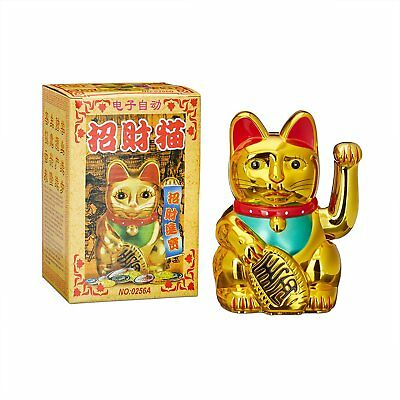 gl ckskatze gold 15cm maneki neko winkekatze gl cksbringer. Black Bedroom Furniture Sets. Home Design Ideas