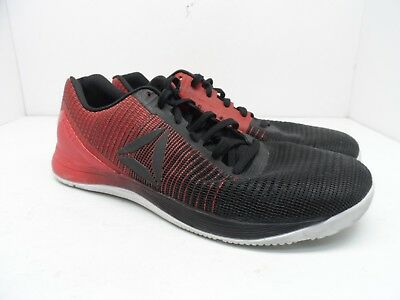 3c0df60a60cbc0 Reebok Men s Crossfit Nano 7 Weave Cross Training Shoe Black Red Size 13M