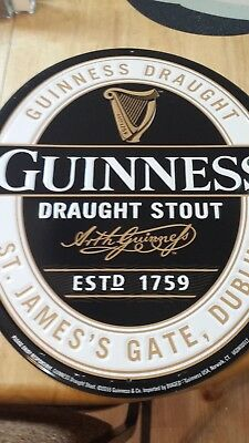 Guinness Draught Stout Metal Beer Tin