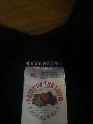 Vintage 80s-90s Fruit Of The Loom Made In U.S.A Blank Sweater Sz L-XL Brand New