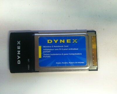 DYNEX WIRELESS G ADAPTER DRIVER UPDATE