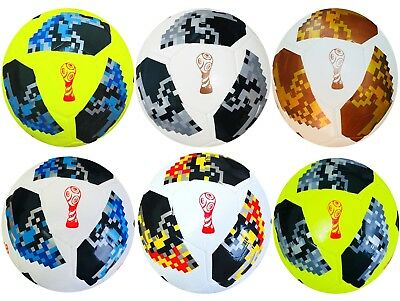 World Cup Football 2018 Russia Replica Size 5,4,3 Genuine Match Ball Soccer Ball