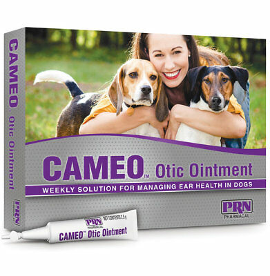 CAMEO Otic Ear Health Applicator for Dogs - 8-2.5gm Applicators by PRN