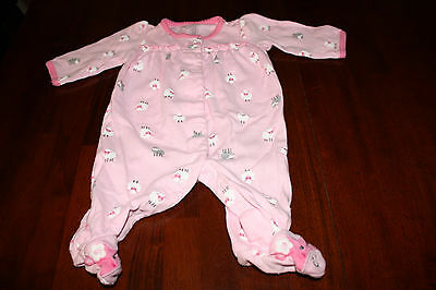 db3051653 CARTER'S JUST ONE YOU BABY GIRL JUMPER/footsie NB - $11.00   PicClick