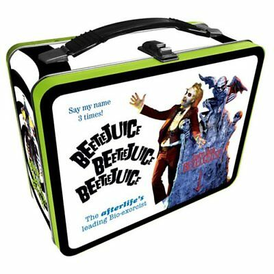 Beetlejuice NEW * Metal Lunchbox Tote * Tin Lunch Box Comedy Horror Movie