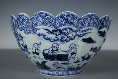 Fine Beautiful Chinese Blue and white Porcelain Bowls