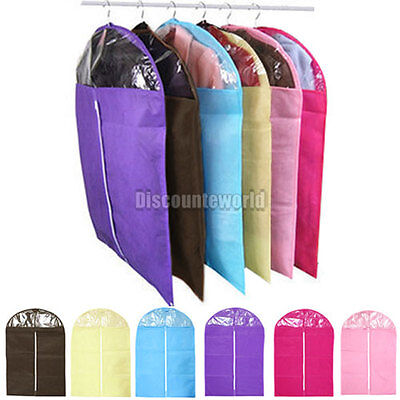 New Clothes Coat Garment Dress Suit Dustproof Storage Cover Protector Bags  AO