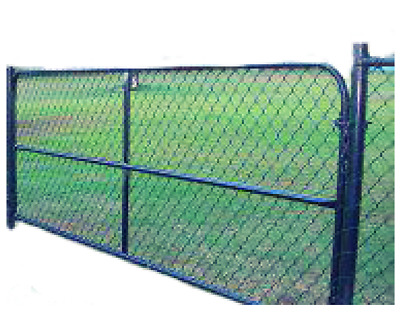 Pvc Coated Chain Wire Single Gates