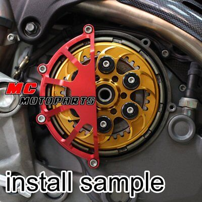 Half Dry Clutch Cover Red For Ducati Monster S4RS S2R 1100 750ie 900ie CC45