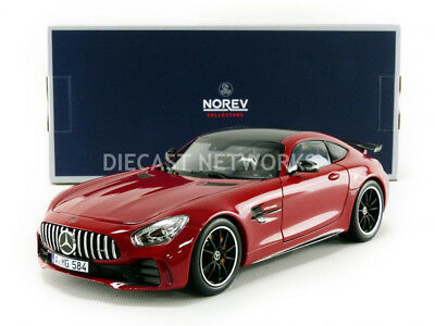 e73e74615d4 NOREV 2018 MERCEDES BENZ AMG GT R RED 1 18 Scale New Release ...