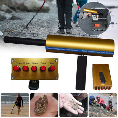 AKS 3D 800M Range Metal Detector Gold Diamond Finder Sensitive Hunter Case Set