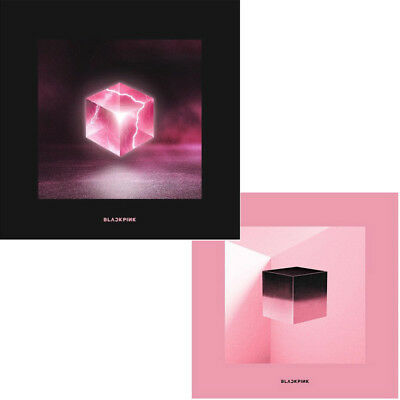BLACKPINK SQUARE UP 1st Mini Album 2 Ver SET 2CD+POSTER+2Book+2Lyrics+6Card+GIFT