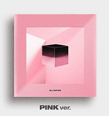 BLACKPINK 1st Mini Album - [SQUARE UP] Pink Ver. CD+Photobook+Photocard+Postcard