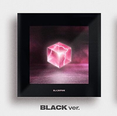 BLACKPINK 1st Mini Album - [SQUARE UP] Black Ver CD+Photobook+Photocard+Postcard